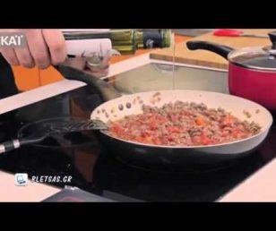 Ευτύχης Μπλέτσας - Happy Cook - Φασολάκια με Κιμά